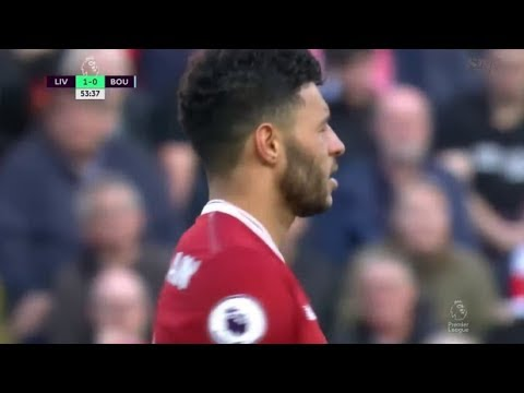 Oxlade Chamberlain vs Bournemouth (16/4/2018) Home