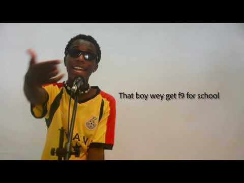 Kweku Jallel Shiesu Lyric Video ( SIFTY EP )