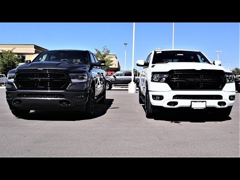 2020-ram-1500-laramie-night-edition-vs-2020-ram-1500-big-horn-night:-what-$12,000-more-buys-you!!!