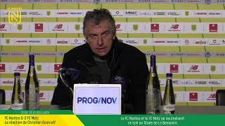 VIDEO: LIVE I Conférence d'après-match : FCN-FCM