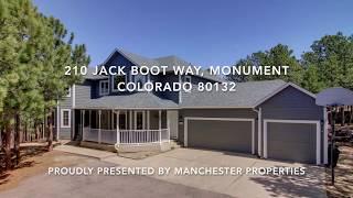 210 Jack Boot Way, Monument Colorado 80132