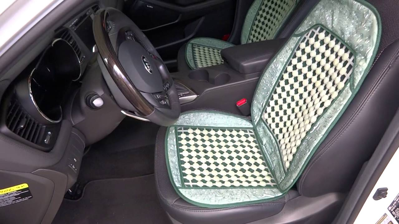 Jade Bead Padded Car Seat Covers For Bucket Seats