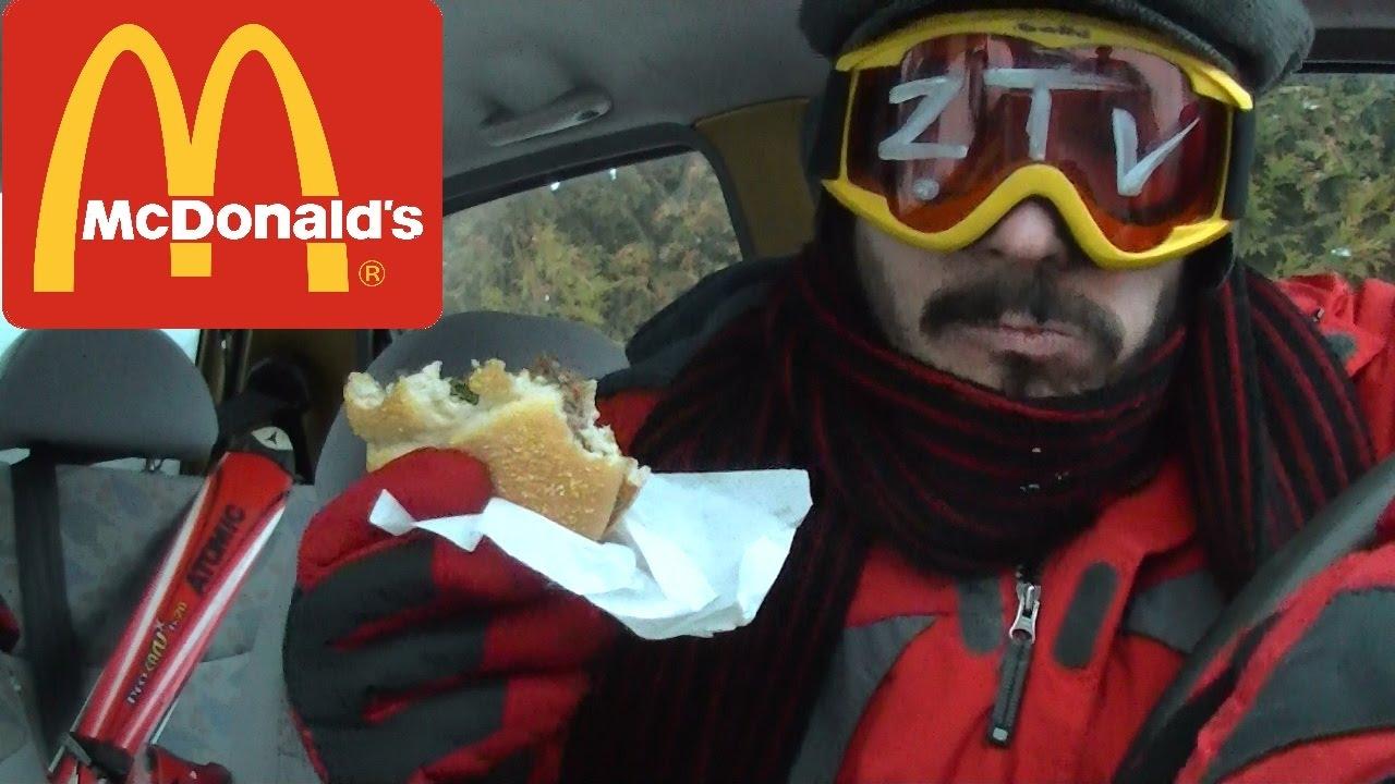 Kanapka górska z McDonalds