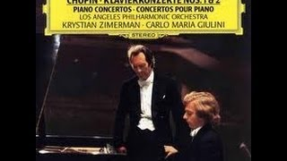 Krystian Zimerman plays Chopin Piano Concerto1&2 【complete】【HQ】