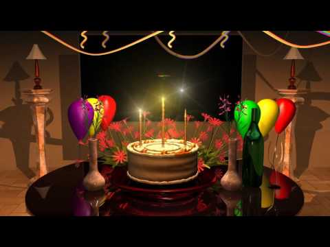 Magical Happy Birthday Animation Happy Birthday Song Youtube