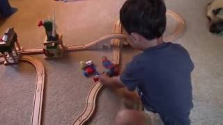 Musicsvideo - A two year old's solution to the trolley problem