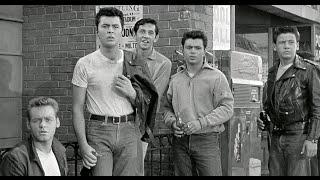 DRIVE-IN CLASSIC: 'RUMBLE ON THE DOCKS' (1956) James Darren, Laurie Carroll, Robert Blake