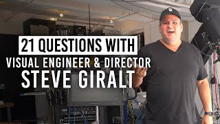How Steve Giralt Engineered a Unique Product Videography Style & More | 21 Questions