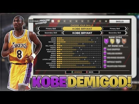 THE NEW DEMIGOD BUILD - LAST BUILD OF 2K18 - YOUNG KOBE BRYANT