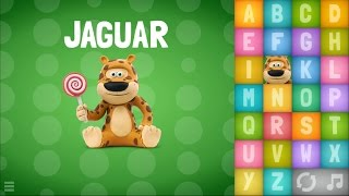Развивающее видео для детей. учим английский алфавит и слова