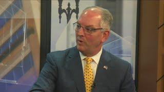 ONE-ON-ONE: Gov. John Bel Edwards discusses reelection bid