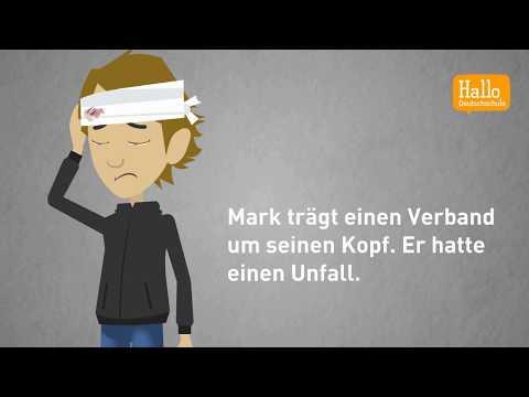 Deutsch lernen mit Dialogen / Lektion 49 / Präpositionen immer mit Akkusativ oder Dativ