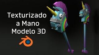 Como Texturizar un modelo 3D manualmente ft. FelipeBlast + FORTNITE