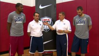 Kevin Durant and Kevin Love Make Commitment to USA Basketball!