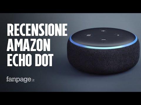 Recensione Amazon Echo Dot: tutte le funzioni di Alexa in uno smart speaker economico