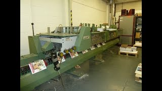 Muller Martini Bindery and Finishing Equipment Gab Supplies Ltd Minuteman 1509 1994