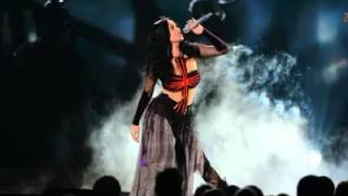 Repeat youtube video Katy Perry - Dark Horse Feat. Juicy J live at Grammy's (Microphone Voice Extracted)