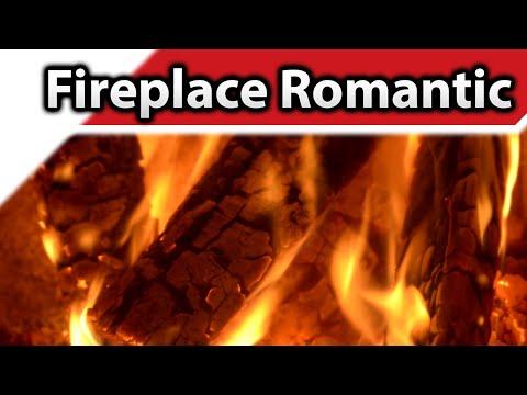 Fireplace Romantic 4K / HD Fireplaces