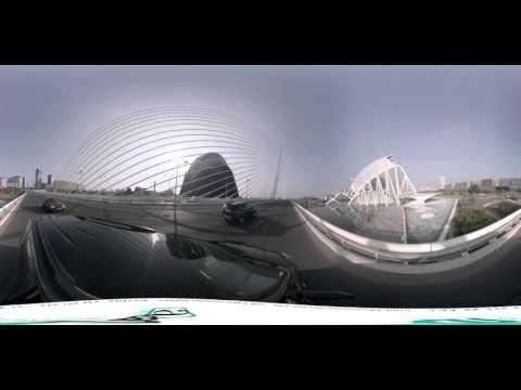Videos 360 Ciudad de las Artes y las Ciencias de Valencia edificios construcciones Calatrava