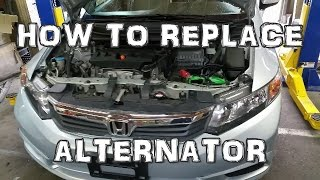 2012 Honda Civic Alternator Replacement
