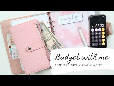 February 2020 Budget | Personal Finance, Full Walk-Thru | MamasGottaBudget