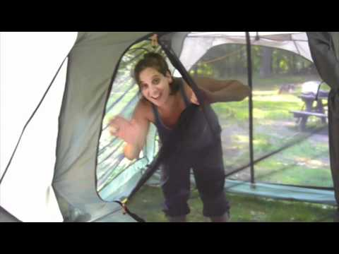 119 & Tent Review - LL Bean King Pine Dome 4 HD - YouTube