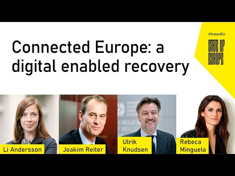 Connected Europe: a digital enabled recovery