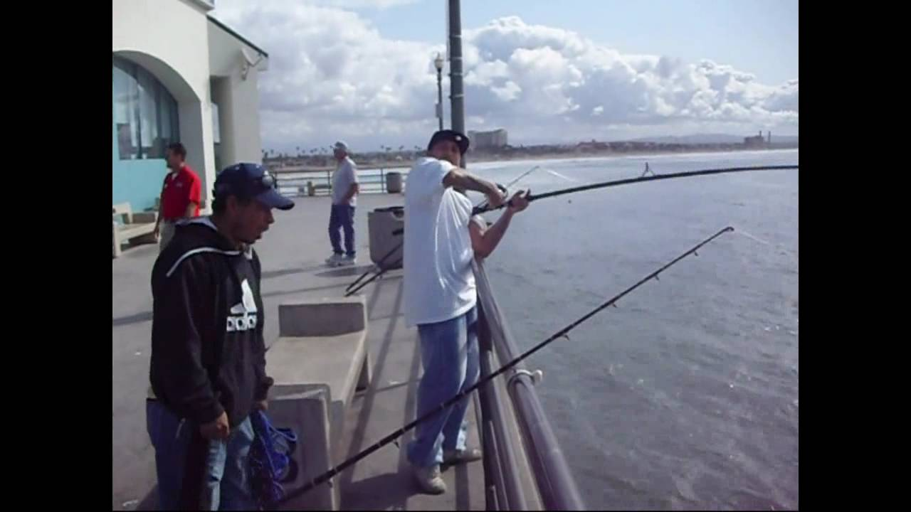 Huntington Beach Pier Fishing You