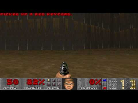 Final Doom TNT Evilution Map12 Pacifist in 39s by Ocelot