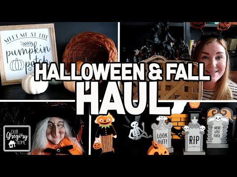 HUGE!! MUST SEE HALLOWEEN AND FALL HOME DECOR HAUL! LOTS OF STORES! thumbnail