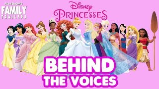 DISNEY PRINCESSES | Find out who are behind the voices of the female protagonists
