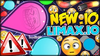 GETTING TO NUMBER #1 BRAND NEW .IO GAME W/ DOUBLE - LIMAX.IO (Limaxio #1)