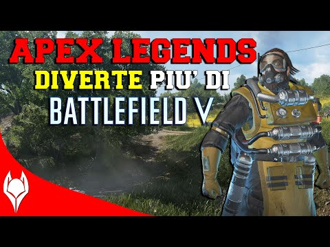 APEX LEGENDS DIVERTE PIÙ DI BATTLEFIELD V? thumbnail
