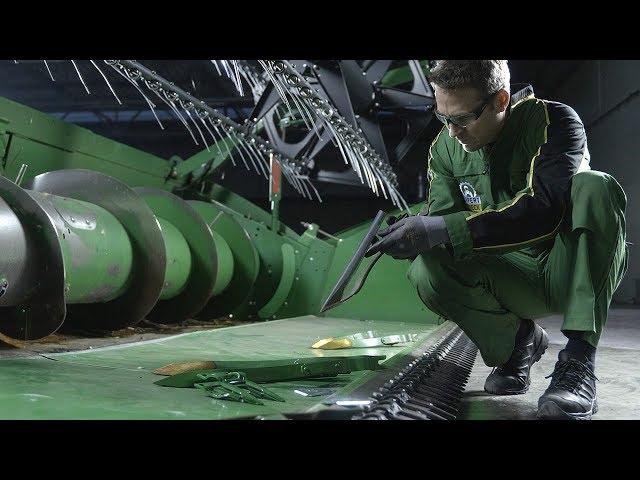 John Deere   Expert Tip Combine - Crop Lifter Inspection