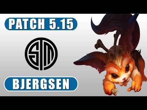 TSM Bjergsen   Gnar vs Fiora   Top   August 18th, 2015   Patch 5.15   Season 5