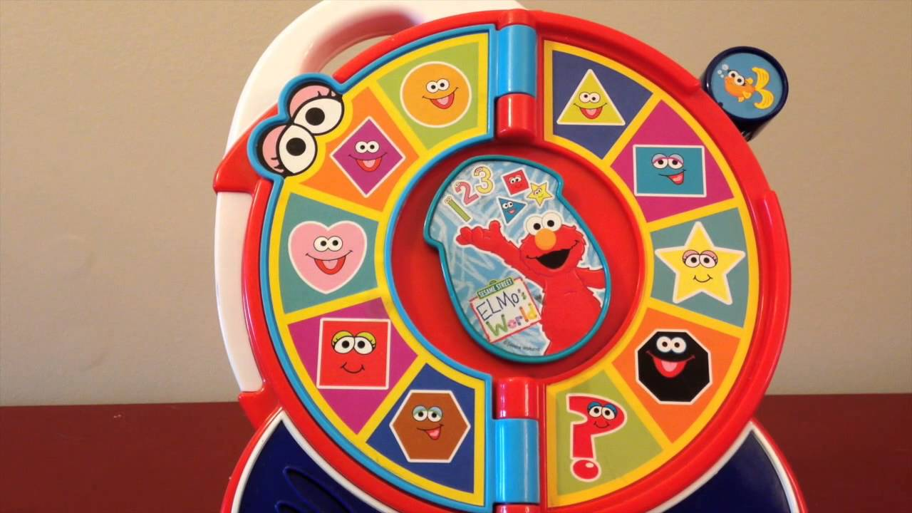 Sesame Street Elmo See N Say Toy Shapes With Subtitles