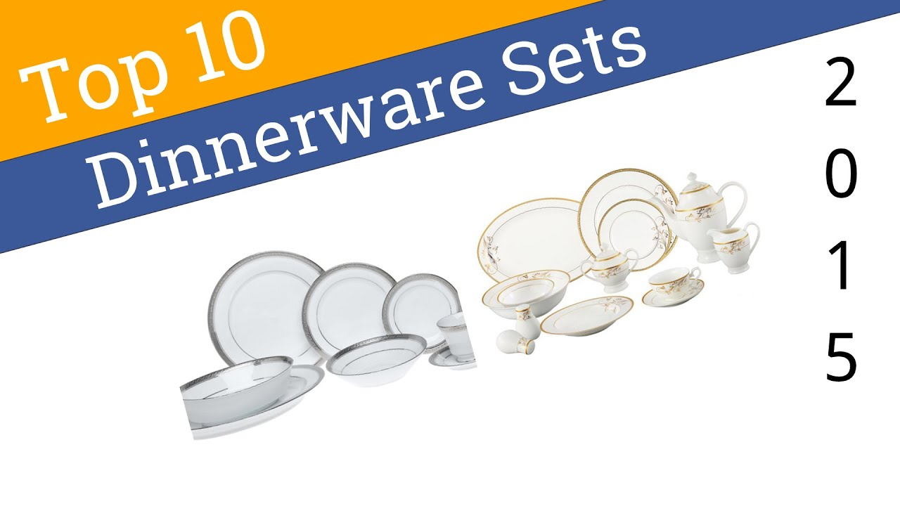 10 Best Dinnerware Sets 2015  sc 1 st  YouTube & 10 Best Dinnerware Sets 2015 - YouTube