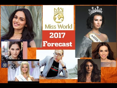 INDONESIA or INDIA!!An Asian MIGHT Win Miss World 2017!!. Robato Forecast.