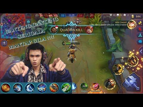 New Hero Roger - 6 Skill Mantap Gila Parah Bener Ni Hero - Mobile Legends #24