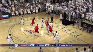 NCAA Basketball 10 (PS3) Online game goes to OT - full highlights