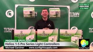 Helios 1-5, Pro Series 4 Light Controllers by Titan Controls
