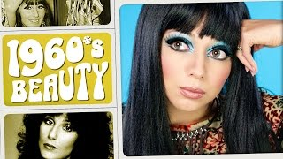 1960s Cher Makeup Tutorial ∞ Throwback Beauty w/ Charisma Star