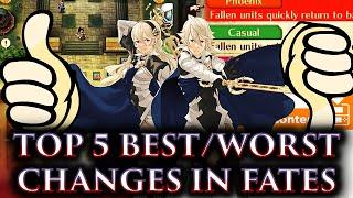 crashx500 s top 5 best worst changes in fire emblem fates fe fates athon