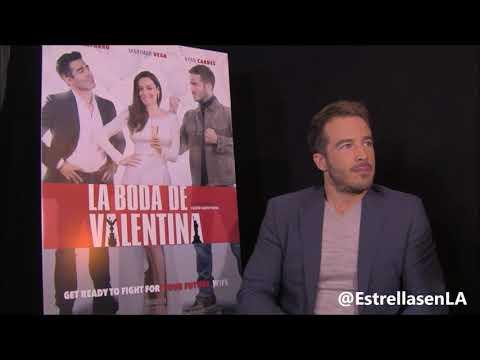 Ryan Carnes  La Boda de Valentina Entrevista