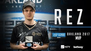 REZ - HLTV MVP by Betway of IEM Oakland 2017