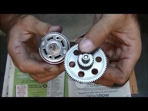 Power wheels gear box modification  (DIY) Part 1