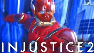 Injustice 2: The Flash Breakdown! Combos, Setups & More Injustice 2 The Flash Gameplay