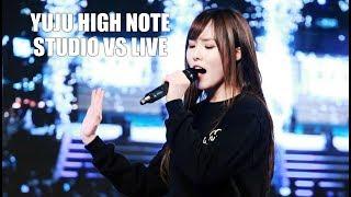 GFRIEND Yuju High Note : Studio vs Live (스튜디오 vs 라이브)