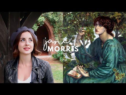 Jane Morris Embroidery | Arts & Crafts Design | Pre-Raphaelite Muse | William Morris & Rossetti