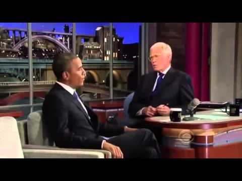 Barack Obama on David Letterman Full Interview